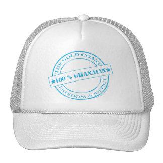 100 percent ghanaian blue cap