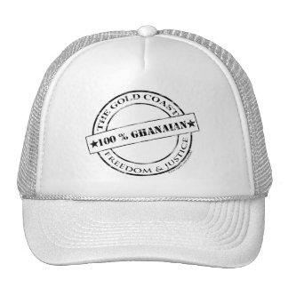 100 percent ghanaian hat