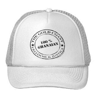 100 percent ghanaian cap