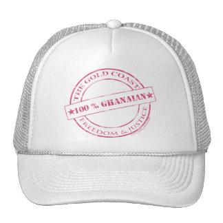 100 percent ghanaian pink cap