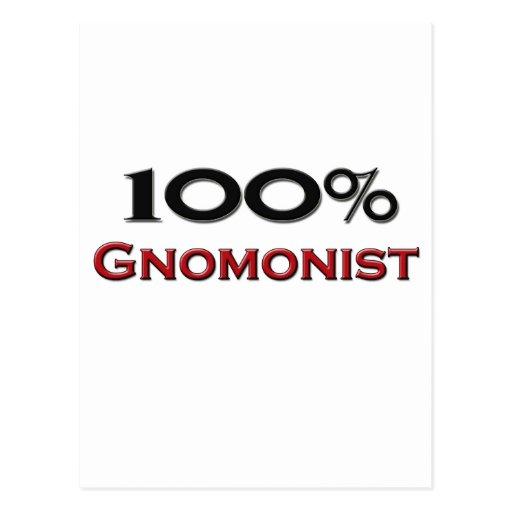 100 Percent Gnomonist Post Cards