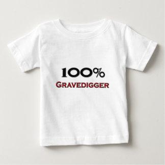 100 Percent Gravedigger Baby T-Shirt