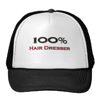 100 Percent Hair Dresser Trucker Hats