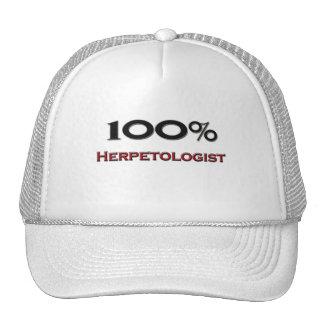 100 Percent Herpetologist Mesh Hats