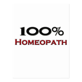 100 Percent Homeopath Post Cards