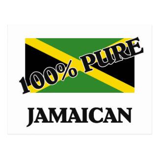 100 Percent JAMAICAN Postcard