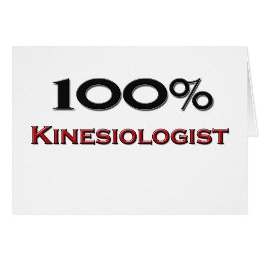 100 Percent Kinesiologist Card