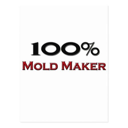 100 Percent Mold Maker Postcards