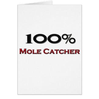 100 Percent Mole Catcher Card