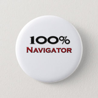 100 Percent Navigator 6 Cm Round Badge