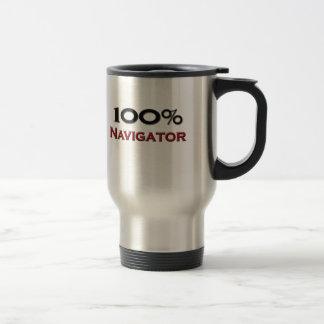 100 Percent Navigator Stainless Steel Travel Mug