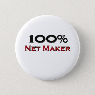 100 Percent Net Maker 6 Cm Round Badge