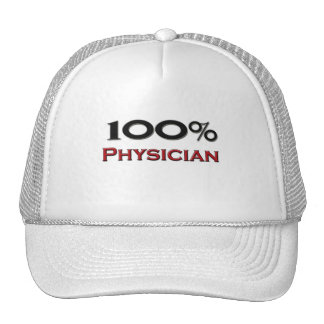 100 Percent Physician Assistant Hat