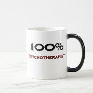 100 Percent Psychotherapist Morphing Mug