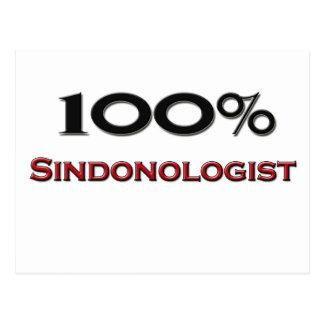 100 Percent Sindonologist Postcard