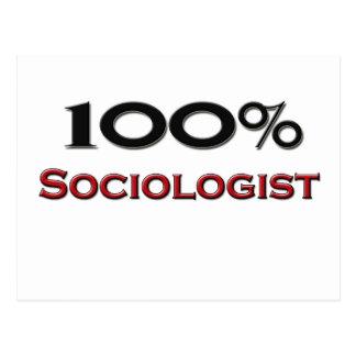 100 Percent Sociologist Post Cards