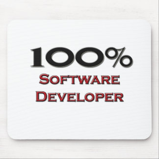 100 Percent Software Developer Mouse Mats