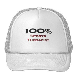 100 Percent Sports Therapist Hat