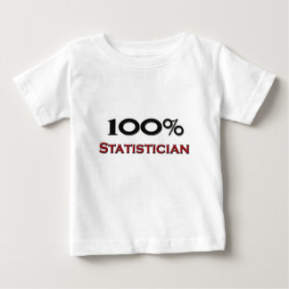 100 Percent Statistician Baby T-Shirt