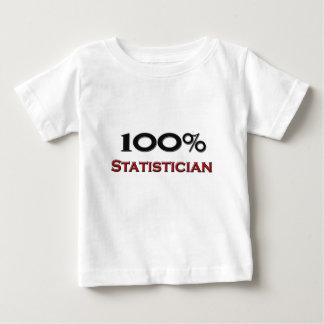 100 Percent Statistician Tshirts