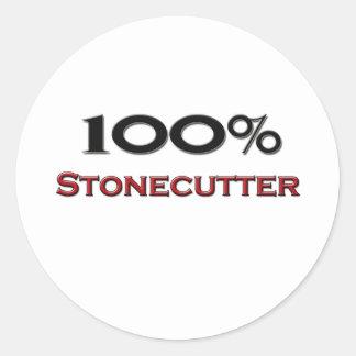 100 Percent Stonecutter Sticker