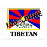 100 Percent TIBETAN Postcard