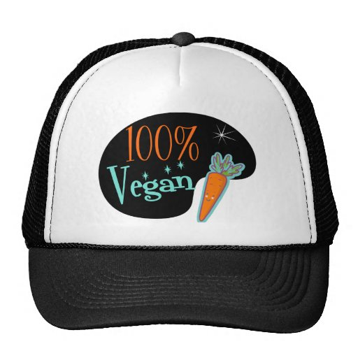 100 Percent Vegan Trucker Hats