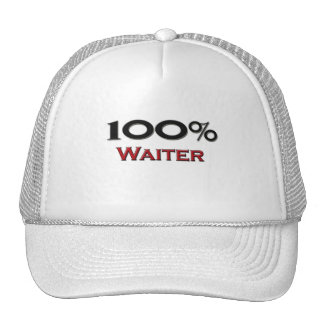 100 Percent Waiter Hat