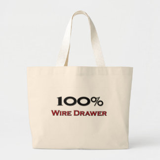 100 Percent Wire Drawer Tote Bags