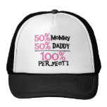 100% Perfect - Pink Tshirts and Gifts Mesh Hats