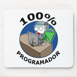 100% Programmer Mouse Pad