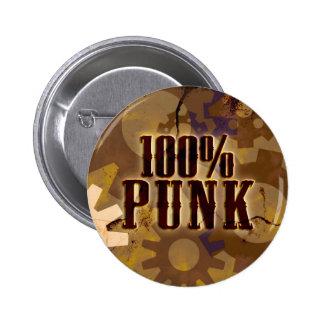 100% Punk Button