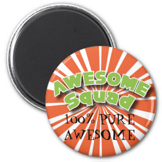 100% Pure Awesome 6 Cm Round Magnet