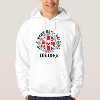 100% Pure Bred British Infidel Hoodie