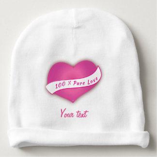100% Pure love Baby Beanie