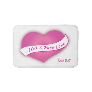 100% Pure love Bath Mats