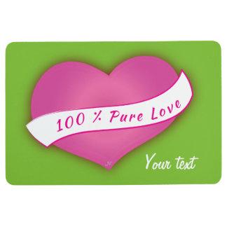 100% Pure love Floor Mat