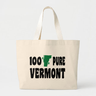 100% Pure Vermont Large Tote Bag
