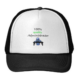 100 quality administrator mesh hat