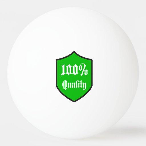 100 Quality Guaranteed Ping Pong Ball