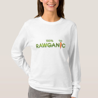 100% Rawganic Raw Food - Carrot (Ladies) T-Shirt