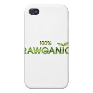 100% Rawganic Raw Food iPhone 4/4S Covers