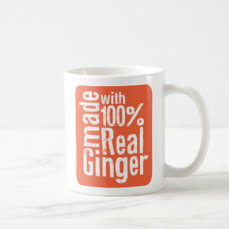 100% Real Ginger Coffee Mug