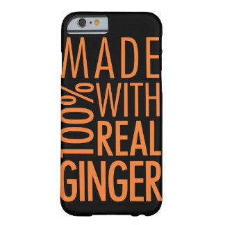 100% Real Ginger iPhone 6 Case