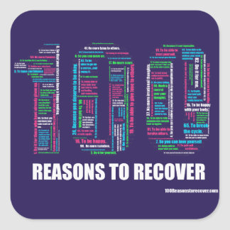 100 Reasons Large Stickers