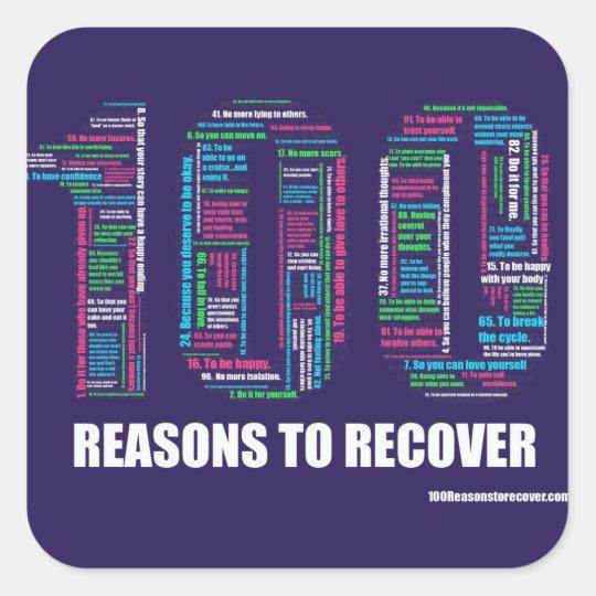 100 Reasons Small Sticker