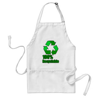 100% Recyclable Adult Apron