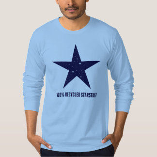 100% Recycled Starstuff-Blue Tee Shirts