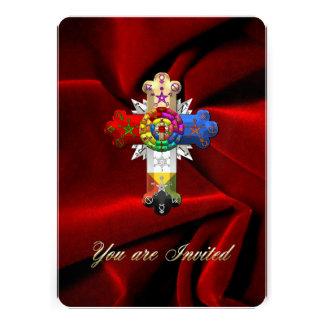 100 Rosy Cross Rose Croix Custom Announcement