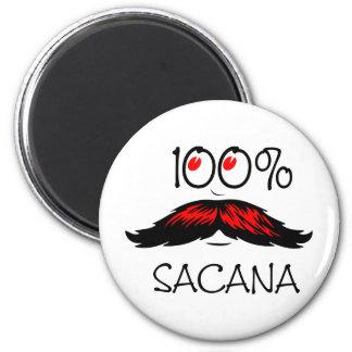 100% Sacana 6 Cm Round Magnet
